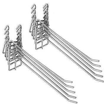 Amazon.com: hyibiao rejilla de acero inoxidable soporte de ...
