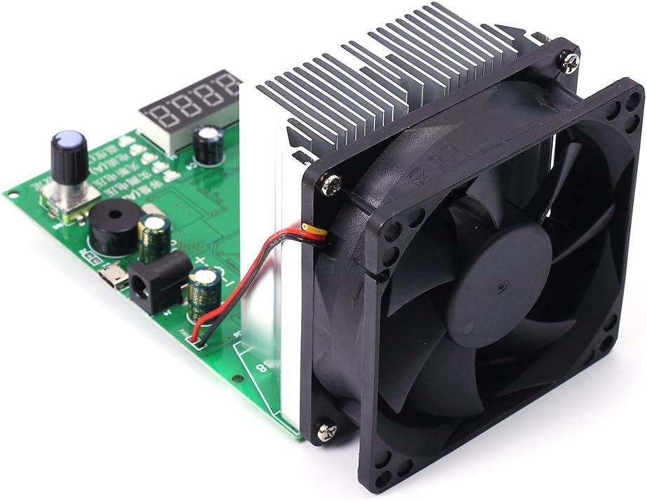 Tester f/ür Akku-Kapazit/ät digital 3,5 A//20 A LED-Anzeige elektronisch Tec-06//Tec-12P mit Batterietester des Fahrzeugs 16 W max 500 Ah 200 W
