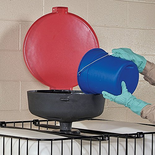 """New Pig Burpless Large Poly Drum Funnel, 22"""" Dia x 11.5"""" H, Red, DRM138-RD by New Pig Corporation (Image #2)"""