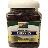Mother Earth Products Freeze Dried Cherries, Quart Jar, 7 Ounce