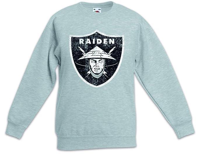 Raiden Logo Sudadera Suéter para Niños Niñas Pullover Mortal Kombat Raiders Earthrealm LIU Kang Mortal MK Nerd: Amazon.es: Ropa y accesorios