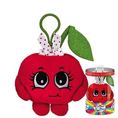 Whiffer Sniffers Cheri Cherry Scented Plush Backpack Clip: Toys & Games