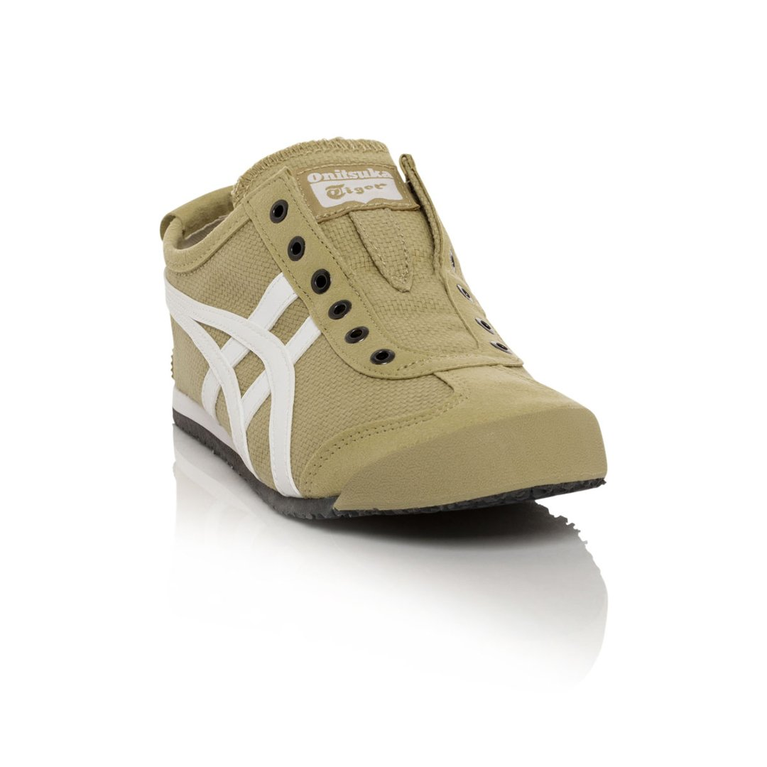 Onitsuka Tiger Mexico 66 Slip-On Classic Running Sneaker B01NCNTZXI 9 M US Women / 7.5 M US Men|Taos Taupe/White
