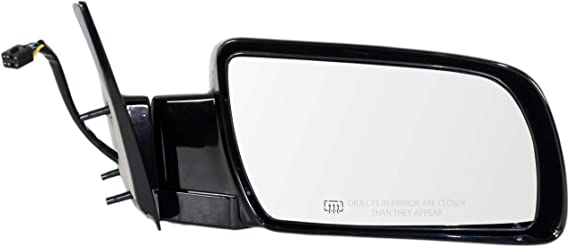 Amazon Com Mirror For Chevy C K Full Size Pickup 88 02 Right Manual Folding Heated Standard Type Paintable Automotive