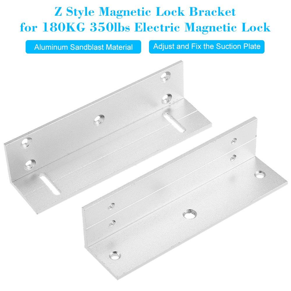 KKmoon Z Supporto del Basamento Stent Lega di Alluminio Montaggio Chiusura Magnetica Pinza Staffa per 180KG 350lbs Forza di Serratura Magnetica