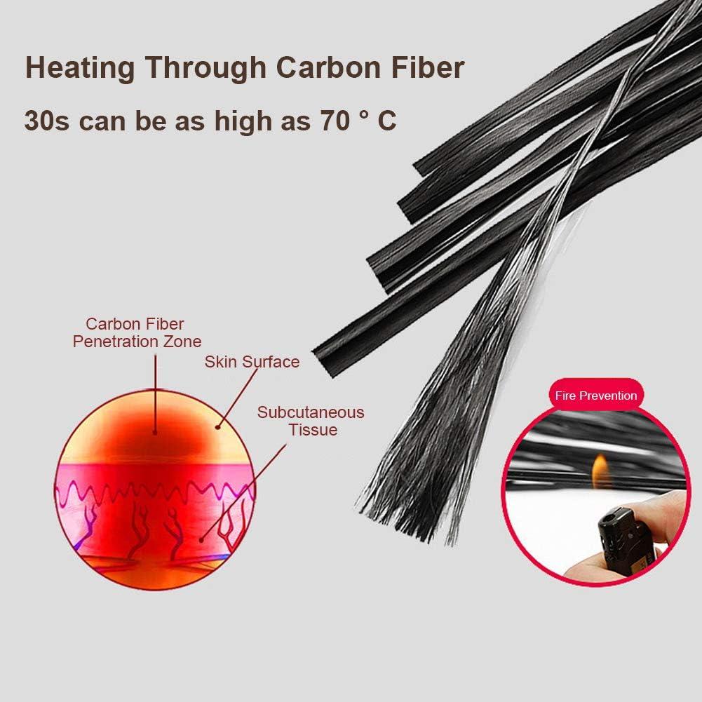SFNTION Elektrisch beheizte M/ütze 3 Temperaturregler Thermo Warm Hut Kappe f/ür Winter Ohrenw/ärmer