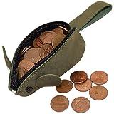 Amazon.com: Crazy Horse - Monedero de piel, diseño de ratón ...