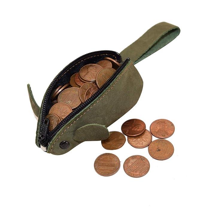 Amazon.com: Bolsa de cambio de moneda, diseño rústico de ...