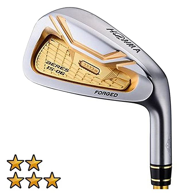 Amazon.com : HONMA Beres IS-06 Iron Set 2018 Right 4-11 ...