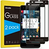 SPARIN [2 Pack] Compatible with Pixel 2 Screen Protector, Tempered Glass [Case Friendly] [Bubble-Easy Installation] Screen Protector for Google Pixel 2