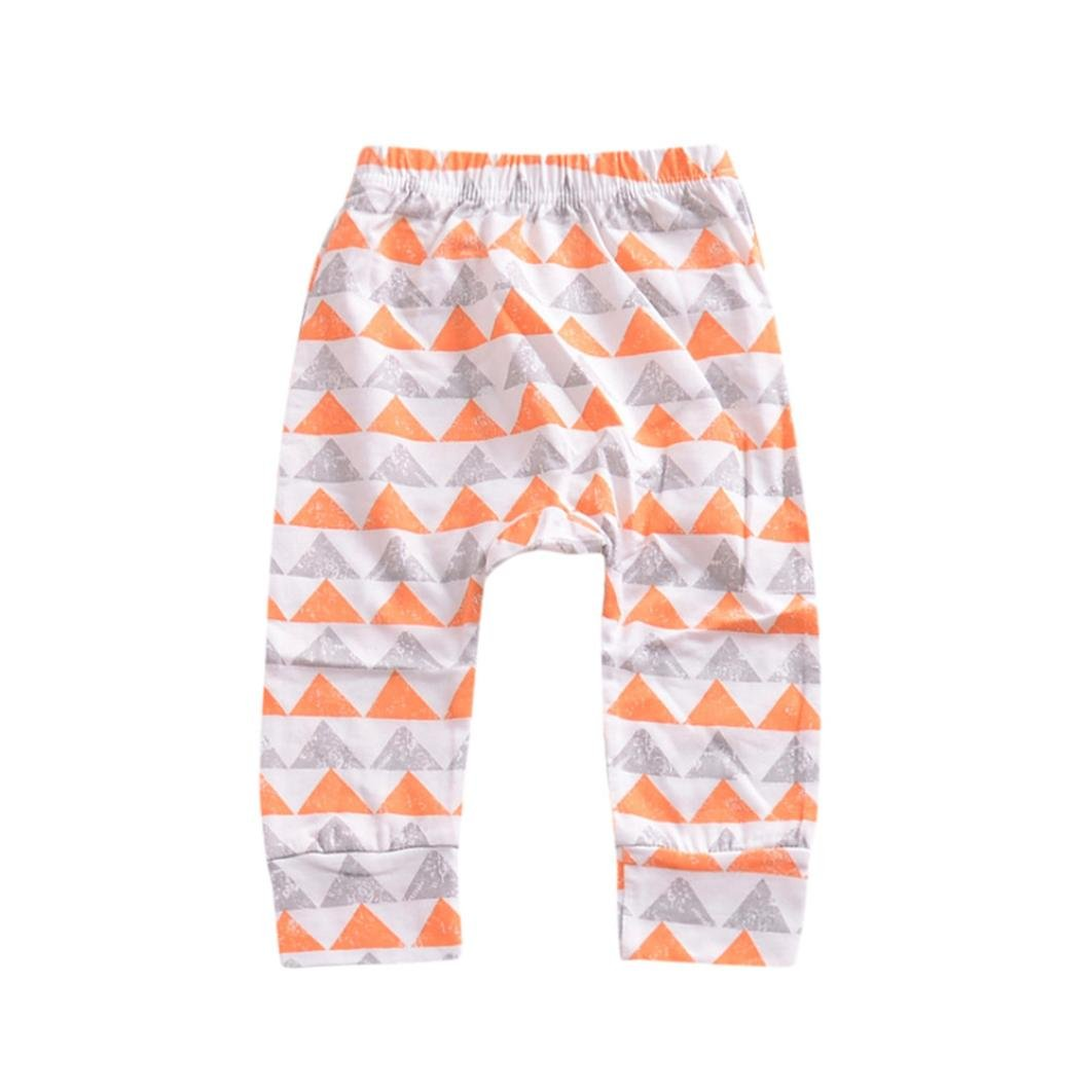 WYXlink Newborn Children Trousers Baby Girls Boys Cartoon Warm Animal Print Leggings Pants