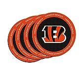 NFL Cincinnati Bengals Neoprene Ring of Honor Coasters, Set of 4