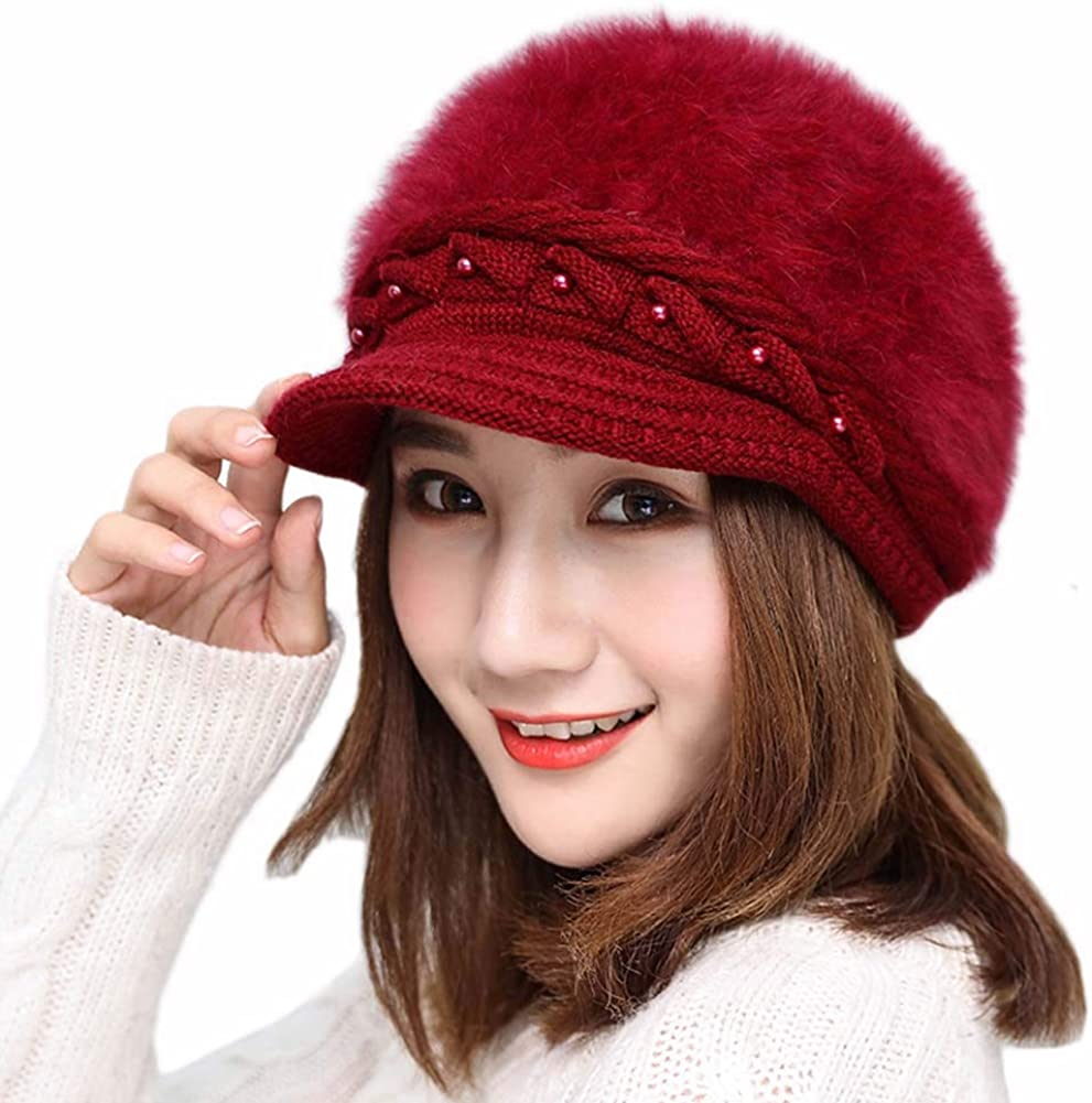 Women Pearl Winter Warm...