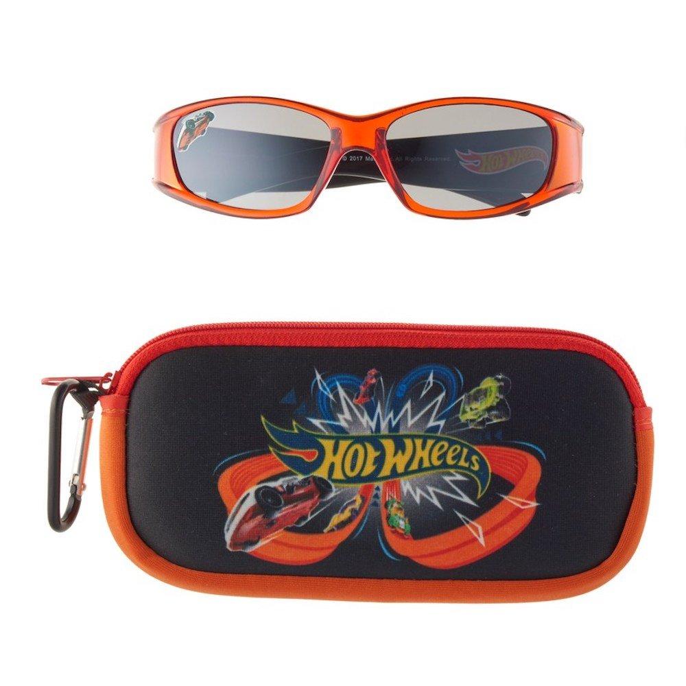 Hotwheels Boys' Sunglasses and Case