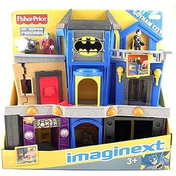 Amazon Com Imaginext Dc Super Friends Exclusive Gotham
