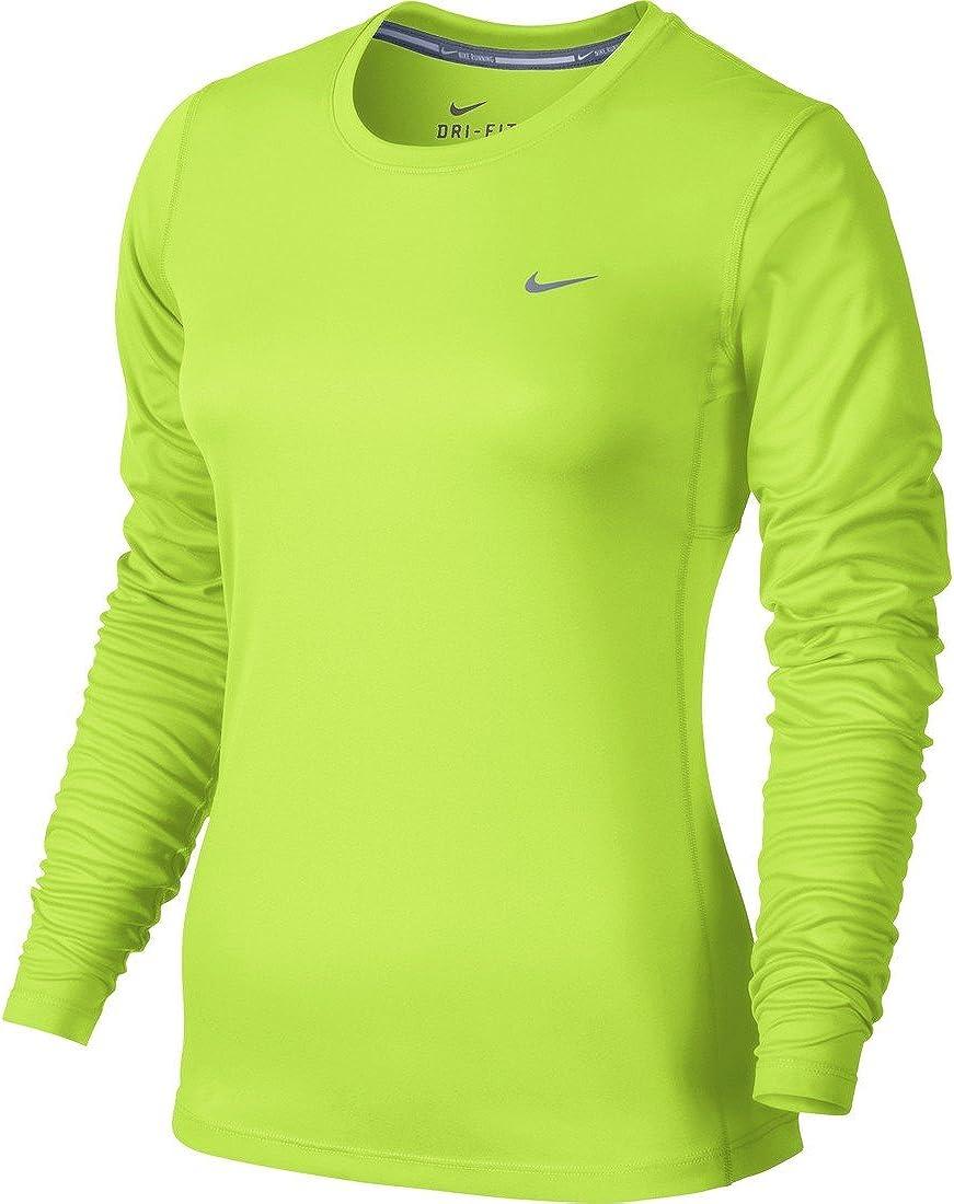 Nike Women's Dri-fit Miler L/S Running Top
