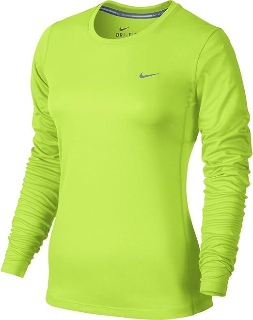 Nike Women's Dri fit Miler LS Running Top
