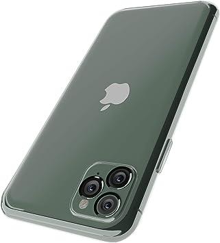 OWM Funda iPhone 11 Pro MAX Transparente de Carcasa de Teléfono ...