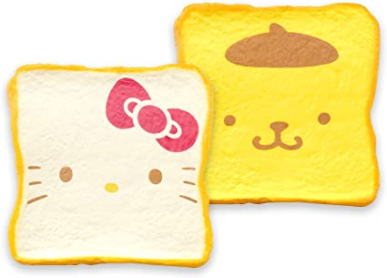 Hamee Sanrio Officially Licensed Pompompurin Slow Rising Squishy Toy Milk Toast