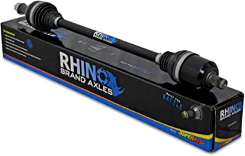 SuperATV Heavy Duty Rhino 2.0 Stock Length Axle for Polaris General 1000 - FRONT 2X Stronger Than Stock! 2016+