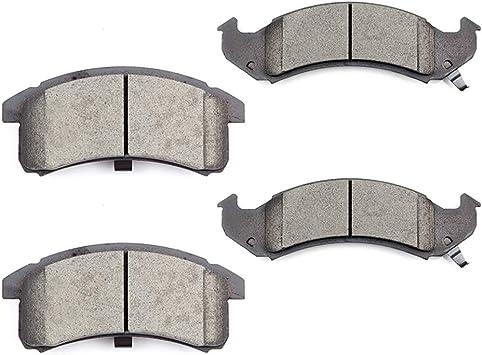 Premium Front Ceramic Brake Pads fits Buick Cadillac Chevy Oldsmobile Pontiac