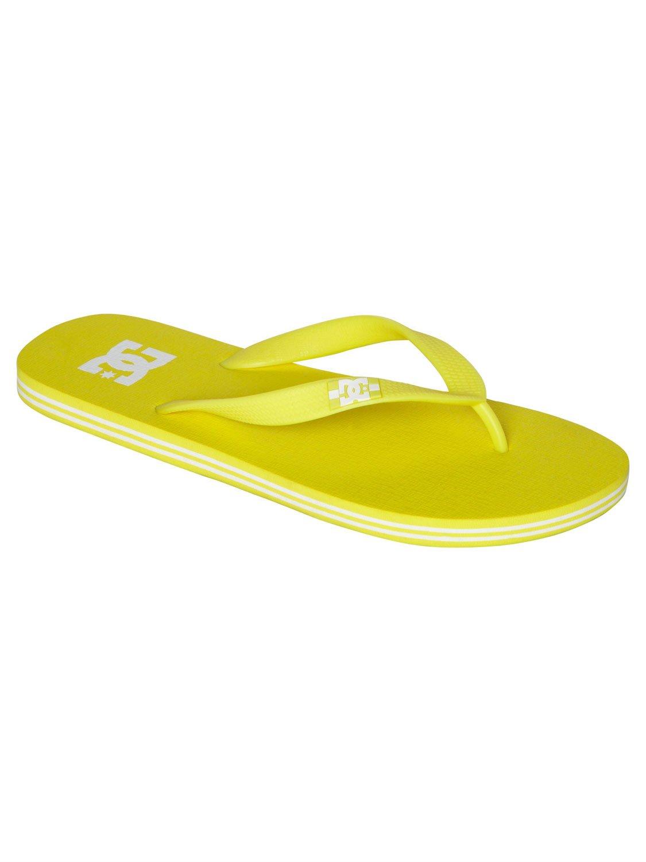 DC Men's Spray Sandal B00FHQGN08 12 D(M) US|Neon/Yellow