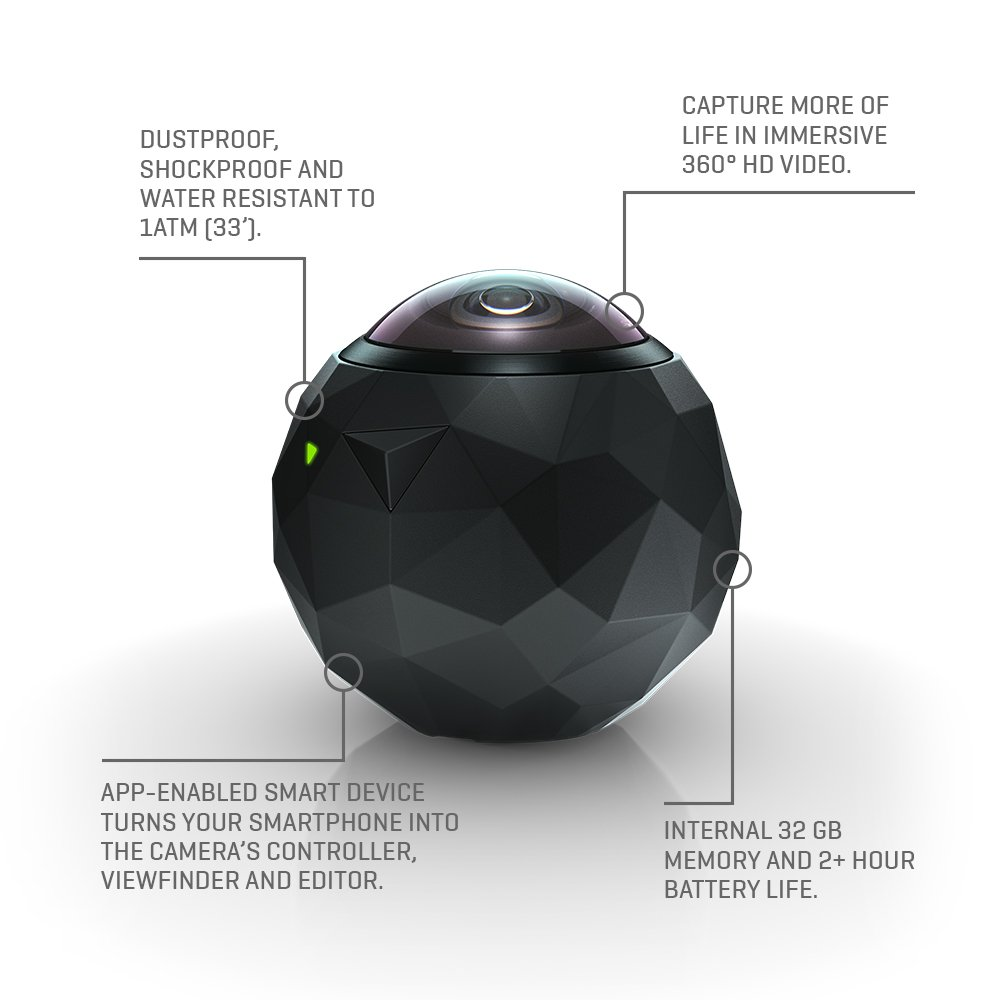 Buy 360fly Hd Camera Black Online At Low Price In India 360 Degree Block Diagram Pictures Reviews Ratings