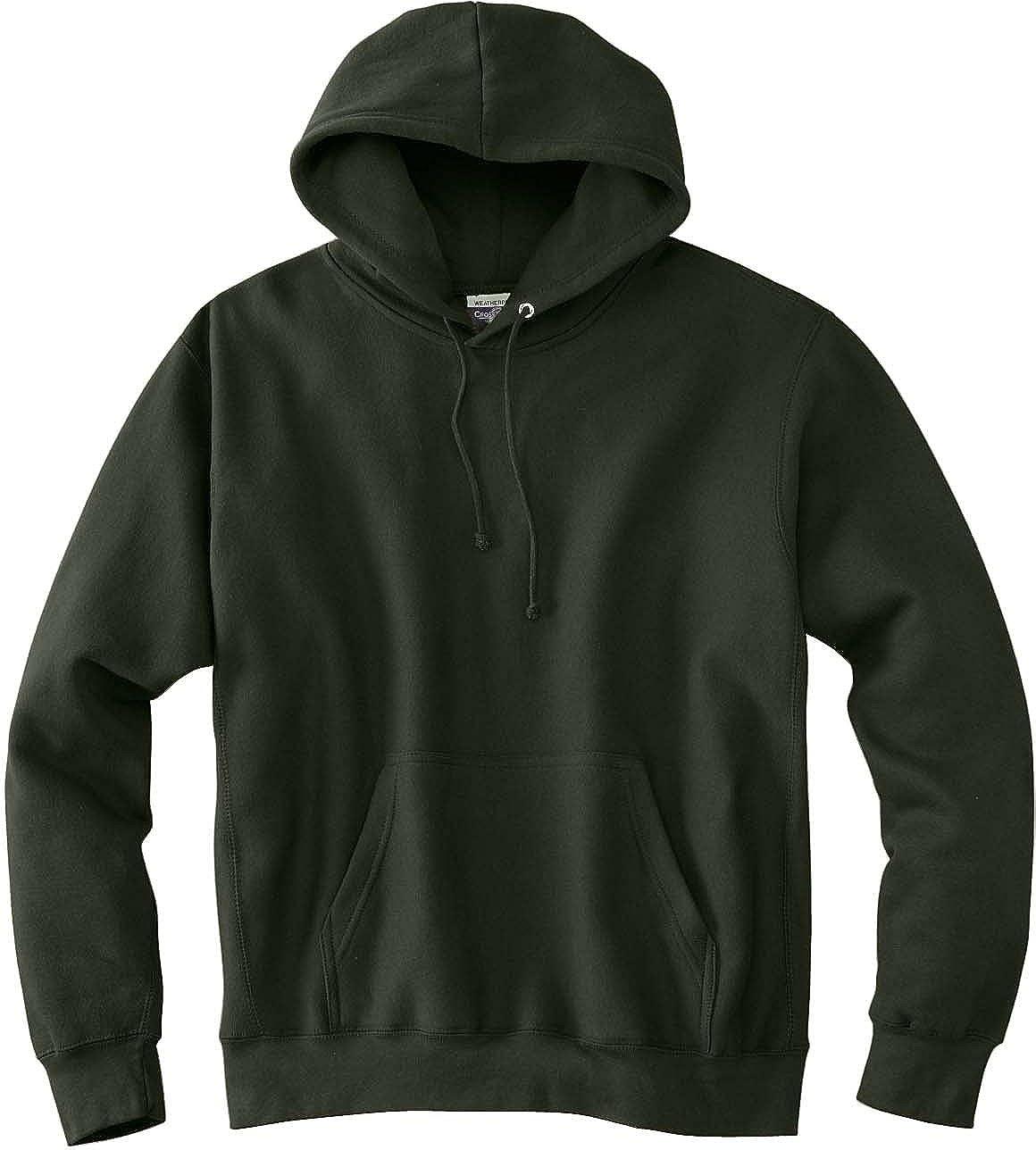 7700 Weatherproof Cross Weave Hooded Sweatshirt