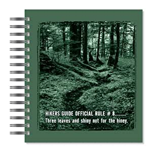 ECOeverywhere Three Leaves Picture Photo Album, 18 Pages, Holds 72 Photos, 7.75 x 8.75 Inches, Multicolored (PA14219)