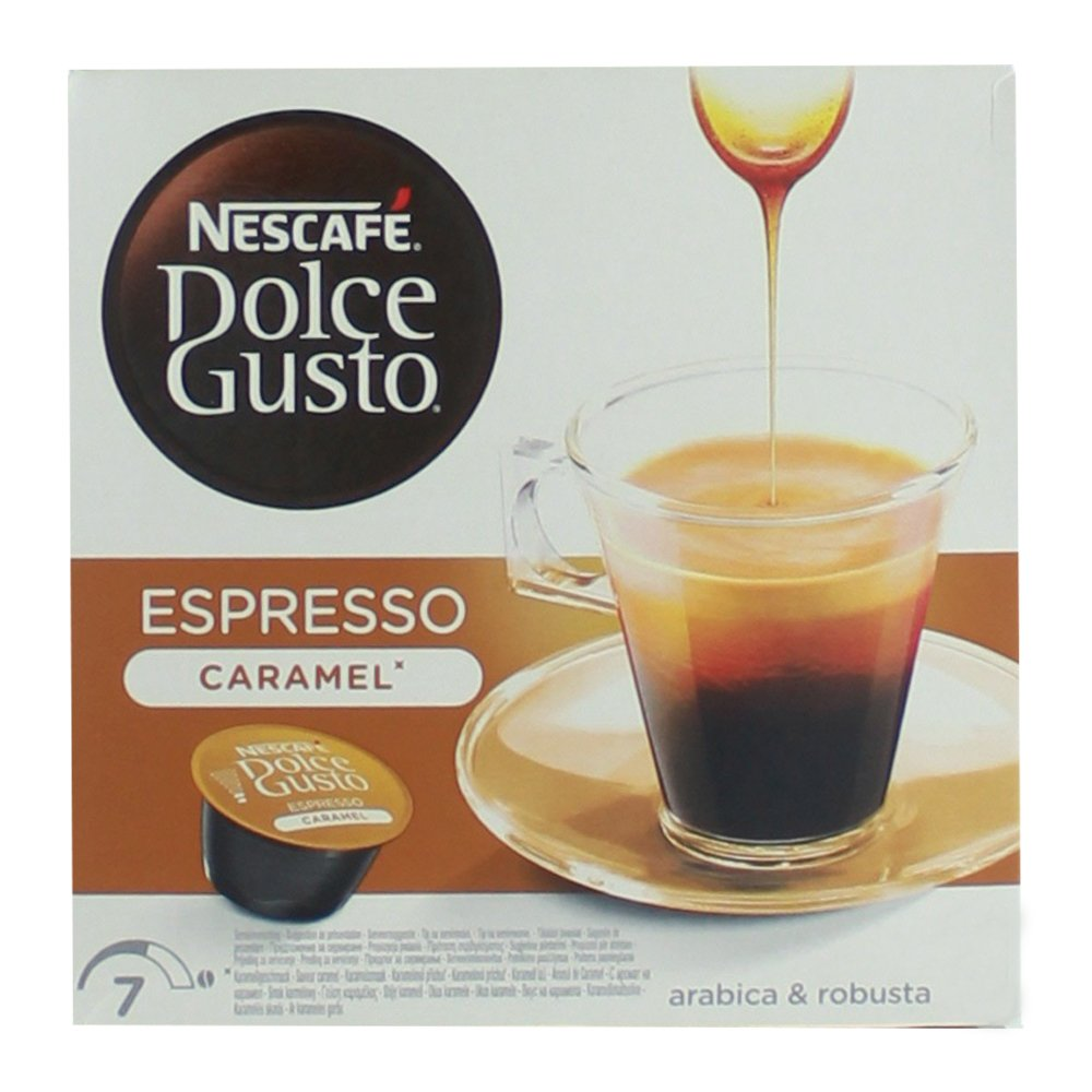 80 x Nescafé Dolce Gusto Espresso Caramel, Cápsulas de Café con Sabor a Caramelo: Amazon.es: Hogar