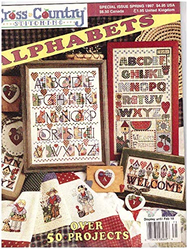 Alphabets Over 50 Projects, Sprin 1997 (Cross Country Stitching)