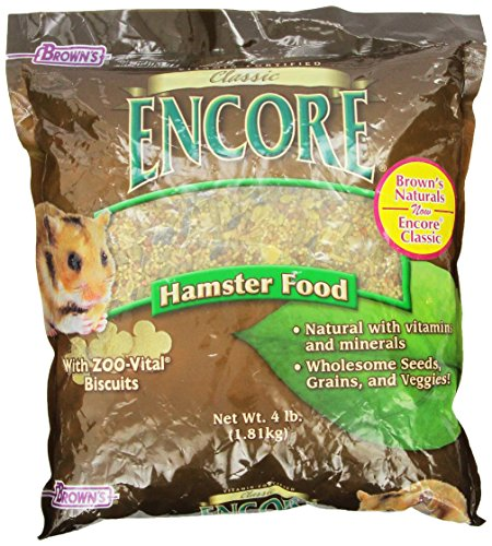 Encore Hamster (F.M.BROWN'S Encore Classic Natural Hamster Food)