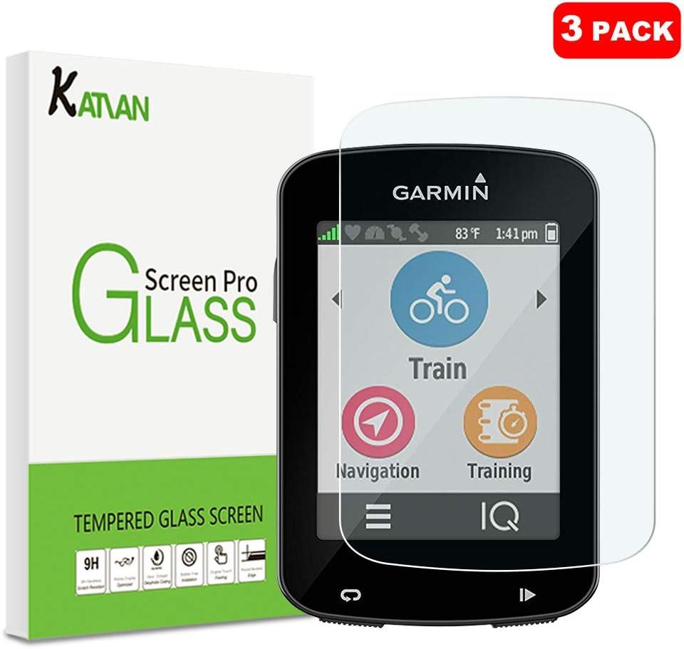 3 Pack] Garmin Edge 830 Protector de Pantalla, KATIAN 9H Dureza ...