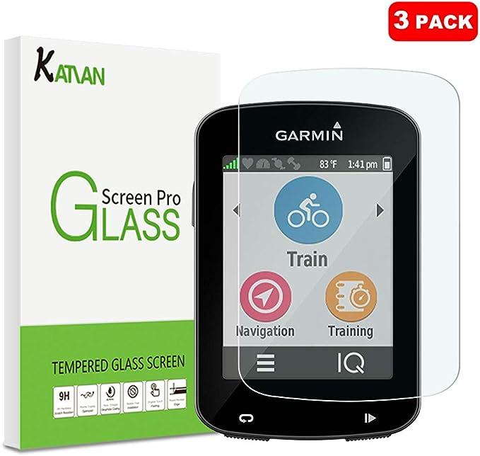 Janmitta [3 Pack] Garmin Edge 530 Protector de Pantalla, 9H Dureza [Alta Definicion] [Fácil de Instalar] Cristal Vidrio Templado Film para Garmin Edge 530: Amazon.es: Electrónica