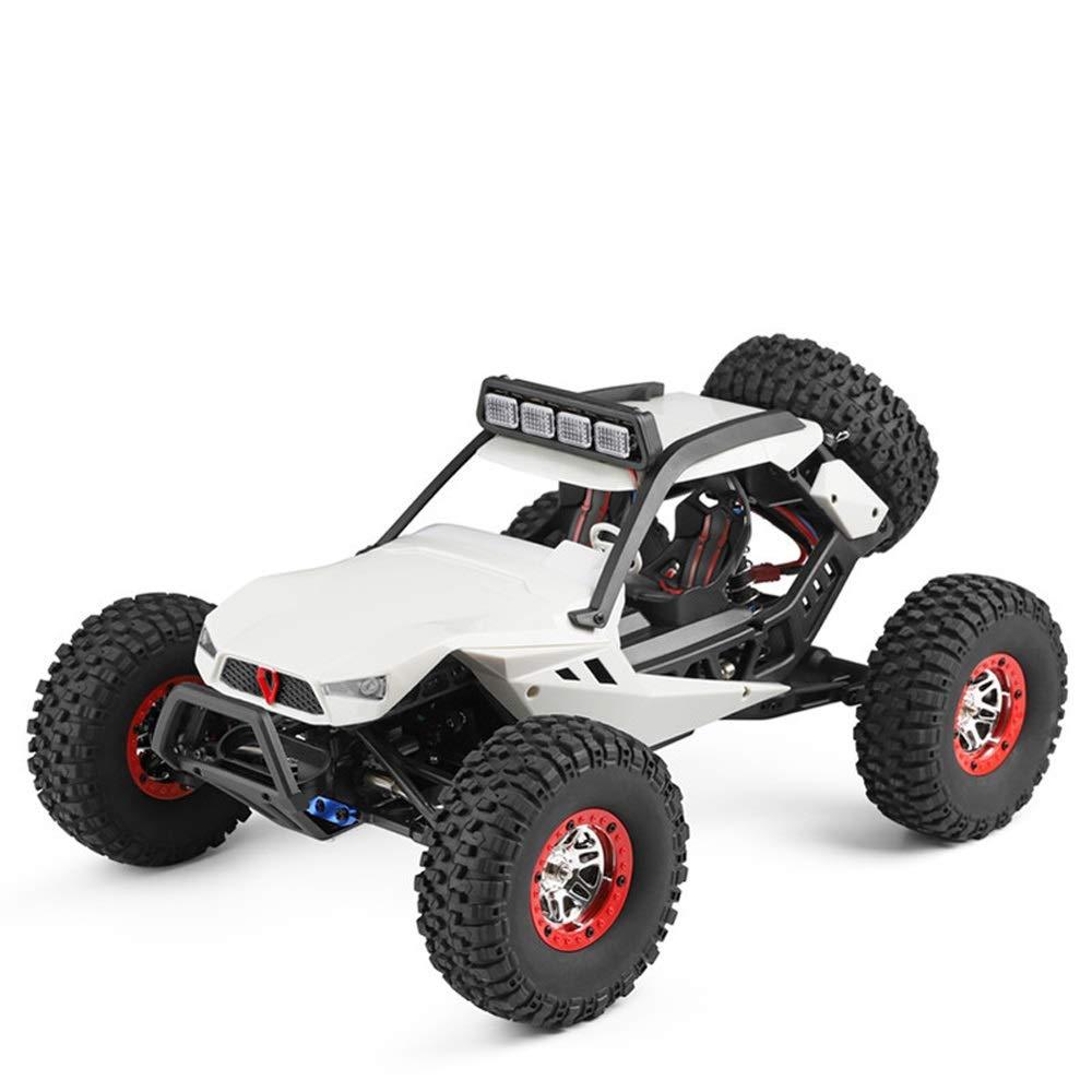 Pinjeer 1:12 40キロメートル/ hリモコン電動四輪駆動クライミングカー競争力のある高速オフロード車大人のおもちゃモデルギフト用キッズ12+ (Color : 1-Battery) B07R8W8YY9 3-Battery  3-Battery