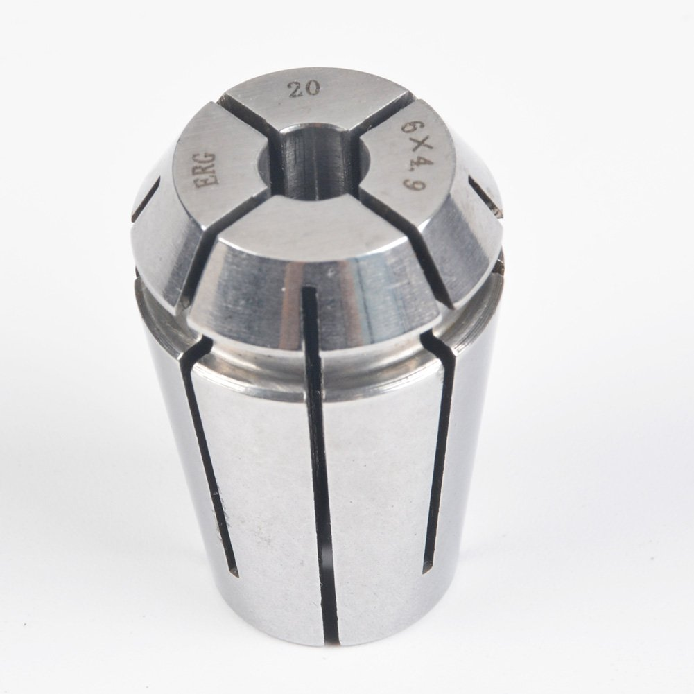 ERG20 6×4.9 Advanced Formula Spring Steel Collet Sleeve Tap,For Lathe CNC Engraving Machine & Lathe Milling Chuck
