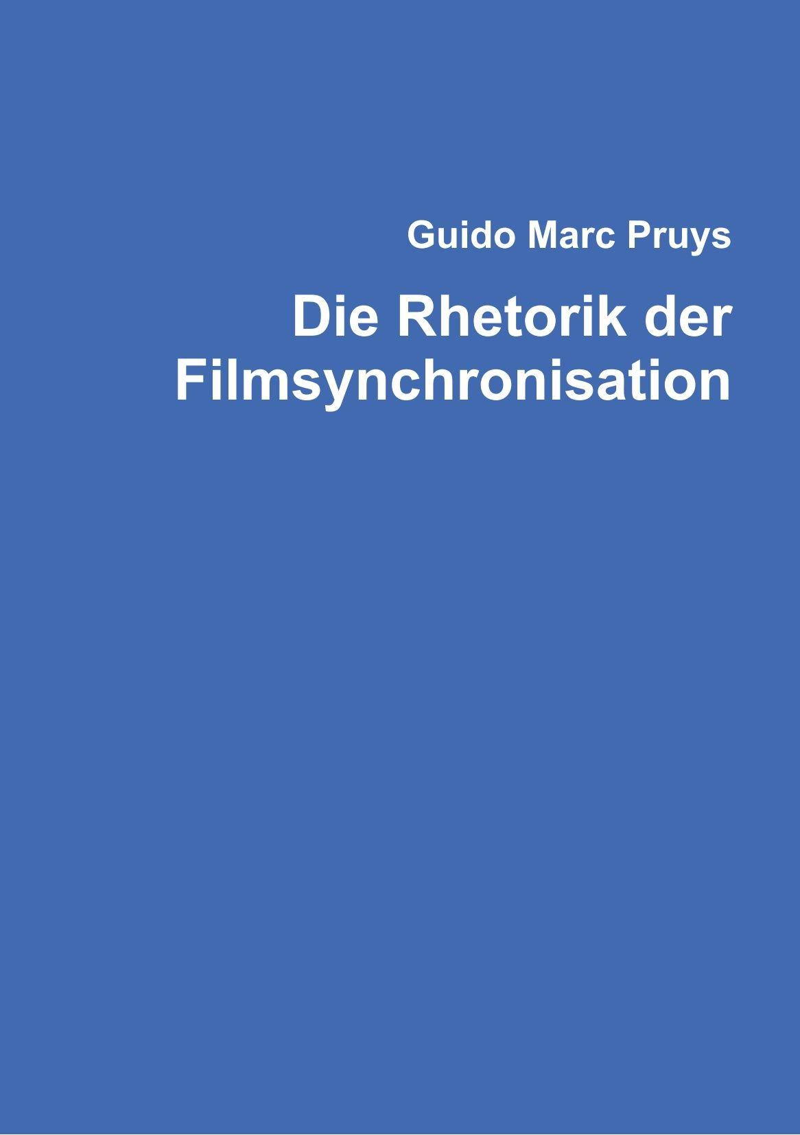 Die Rhetorik der Filmsynchronisation