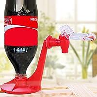 Matériau d'isolation Attractif Saver Soda Coke Bouteille À l'envers Eau Potable Distributeur Machine Gadget Party Home Bar Rouge