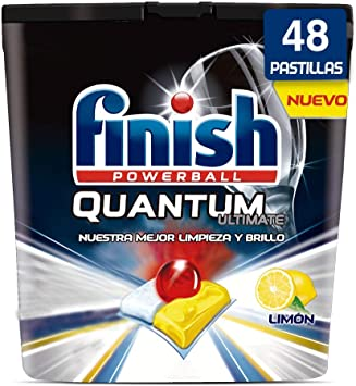 Finish Powerball Quantum Ultimate, pastillas para el lavavajillas ...