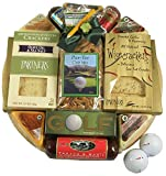 Gift Basket Village Deluxe Golf Gift Basket with Golf Ball Cutting Board