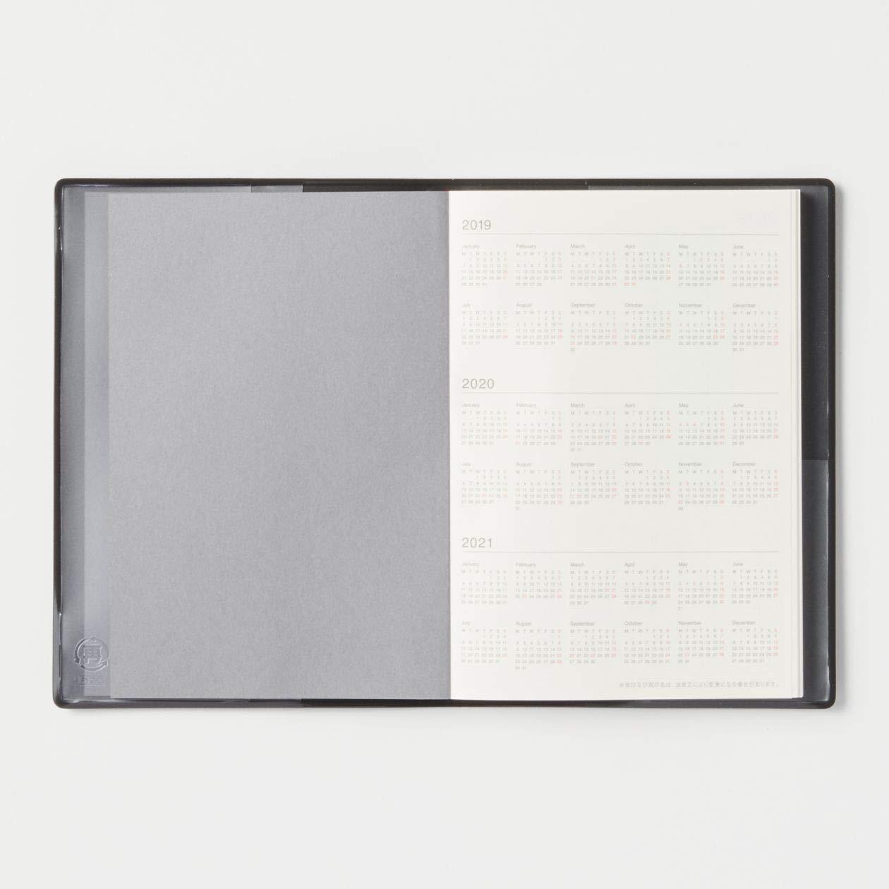 Amazon.com: MUJI 2019 - Agenda de papel fino (A6, tamaño 4,1 ...