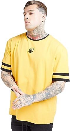 Sik Silk - Camiseta Siksilk 15790 S/S Essentials Ringer Gym tee Yellow - SS15790 - Yellow, X-Small: Amazon.es: Ropa y accesorios