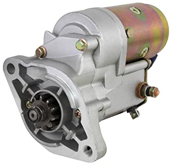 NEW 12V 15 TOOTH 1.6KW OSGR STARTER MOTOR MITSUBISHI TRACTOR D1650 D1850 D2050