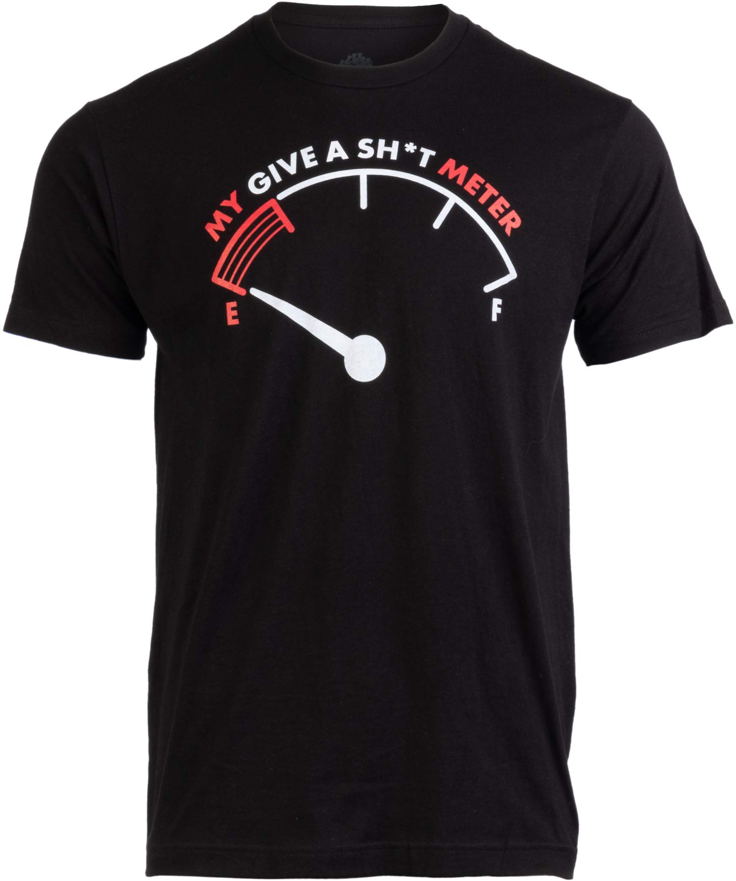 My Give A Sht Meter Is Empty Funny Sarcastic Saying Comt Joke T Shirt 1260