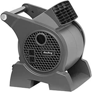 Air King 9555 3-Speed Commercial Grade Pivoting Blower, 1/13-Horsepower, Gray Finish