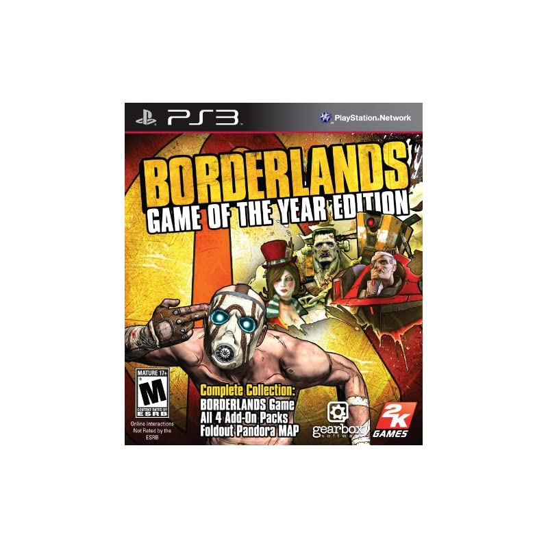 Borderlands: Game of the Year Edition -
