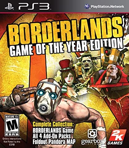 Borderlands: Game of the Year Edition - Playstation 3 (7 Day To Die)