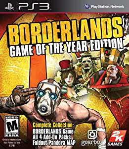 Borderlands Game of the Year - PlayStation 3 Game of the Year Edition