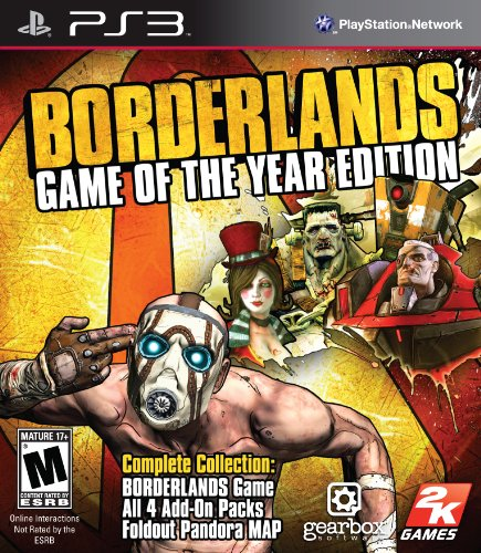 Borderlands: Game of the Year Edition - Playstation 3