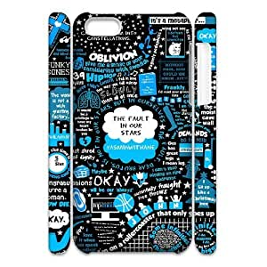 The Fault In Our Stars DIY 3D Cover Case for Iphone 5C,personalized phone case ygtg-318895